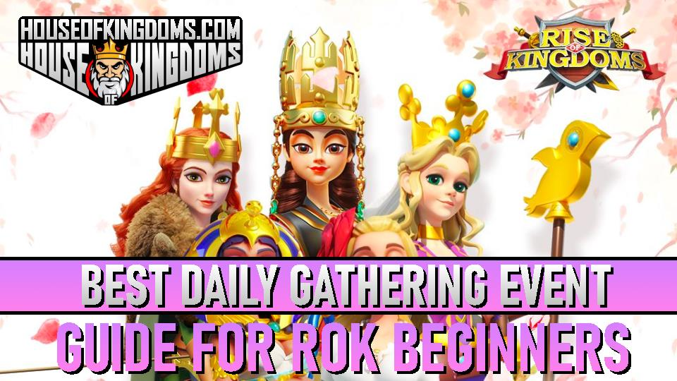 Best Daily Gathering Event ROK