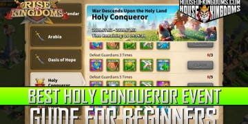 Best Holy Conqueror Event ROK Guide