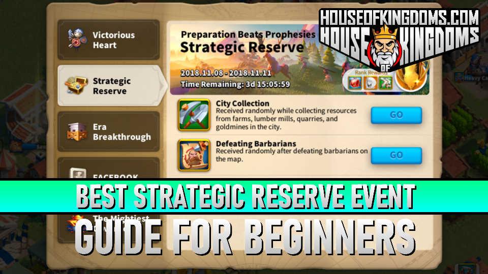 Best Strategic Reserve Event ROK Guide