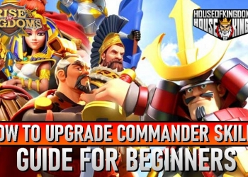 How to Upgrade Commander Skills