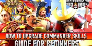 How to Upgrade Commander Skills