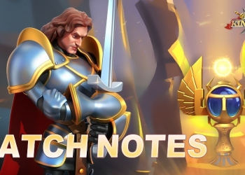 ROK Patch Notes 1.0.37 Rise of Kingdoms Geared Up