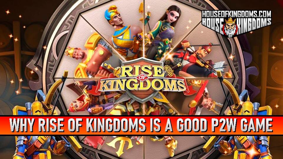 Rise of Kingdoms Good P2W Game