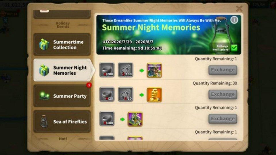 Summer Night Memories ROK