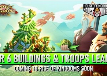 Tier 6 Rise of Kingdoms ROK