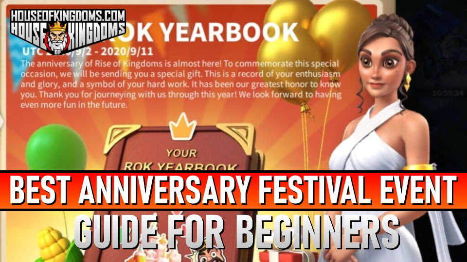 Best Anniversary Festival Event ROK Guide