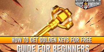 Free Golden Keys Rise of Kingdoms