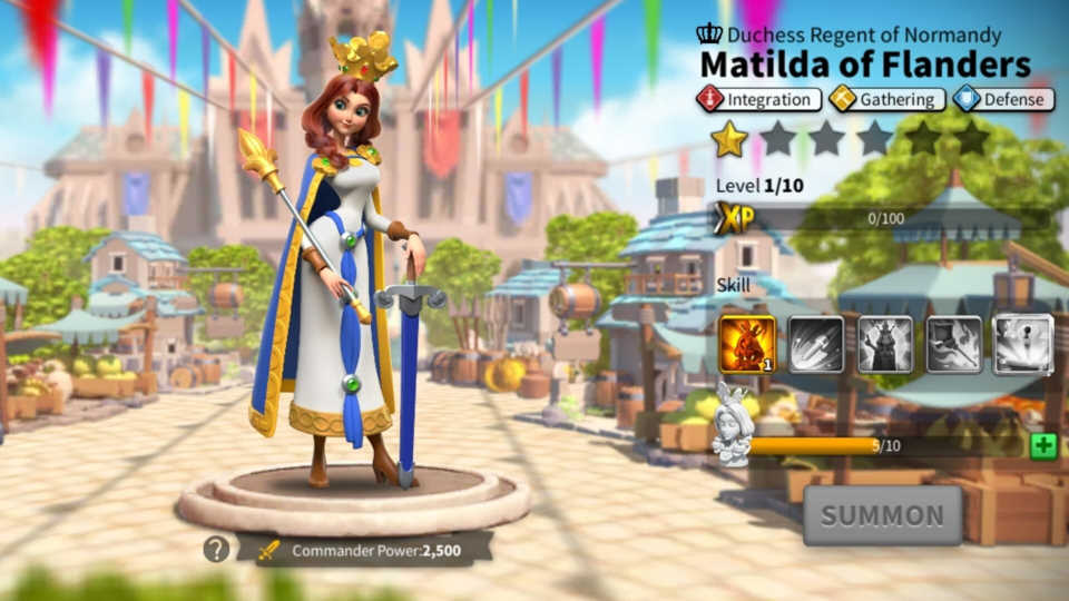 Matilda of Flanders ROK Guide