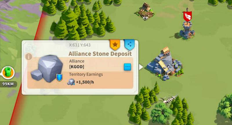 Rise of Kingdoms Alliance Deposits