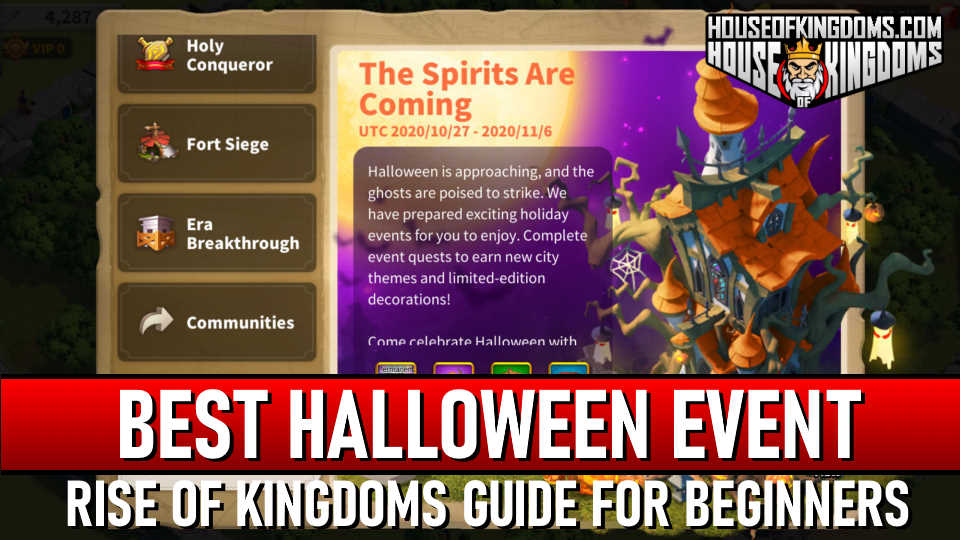 Rise of Kingdoms Halloween Event