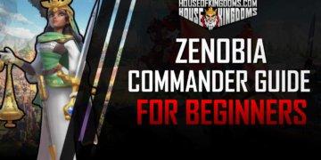 Zenobia Rise of Kingdoms Commander Guide