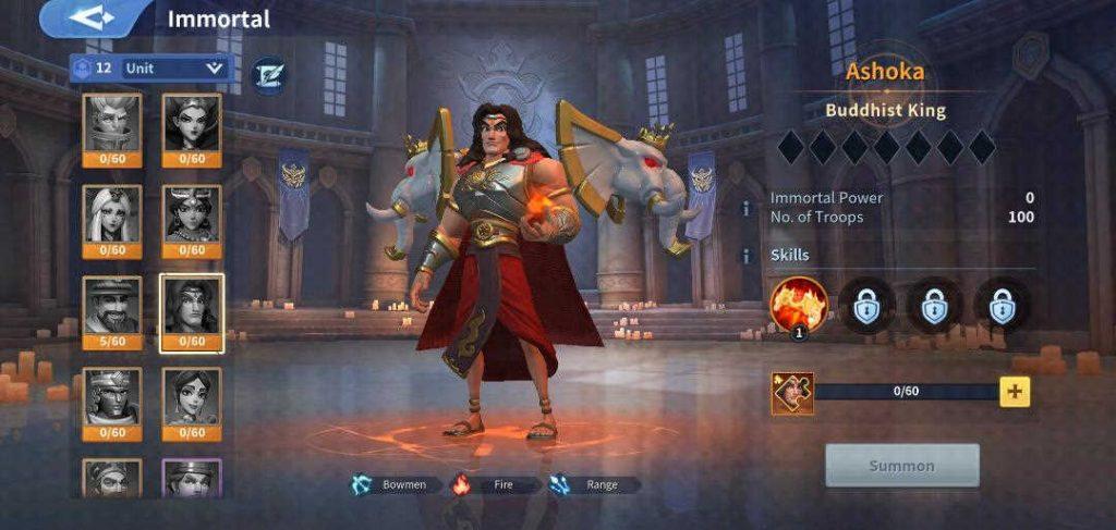 Ashoka Fire Immortal Infinity Kingdom