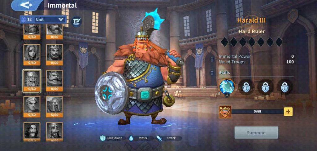 Harald III Immortal Infinity Kingdom