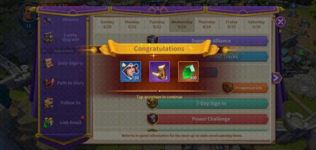 Infinity Kingdom Link Account Prize