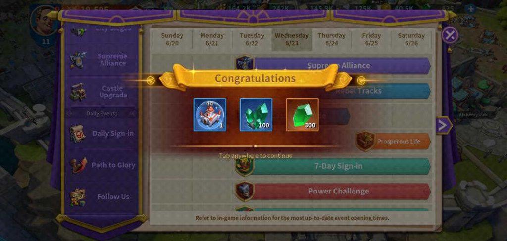 Infinity Kingdom Link Account Successful
