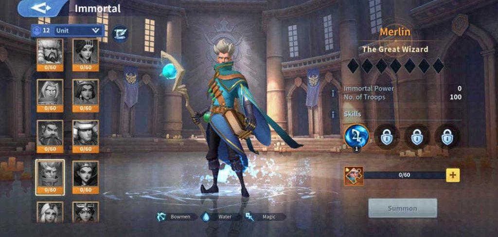 Merlin Immortal Infinity Kingdom