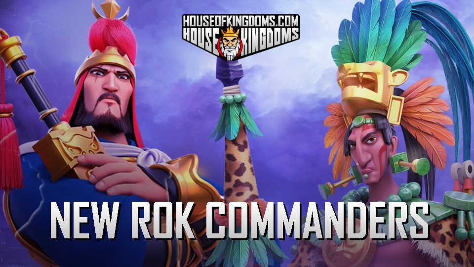 New ROK Commanders