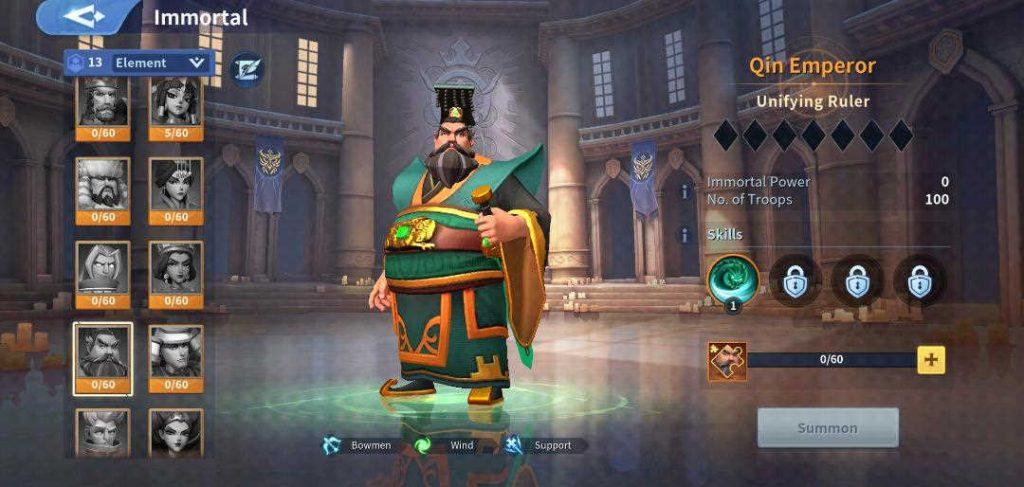 Qin Emperor Wind Immortal