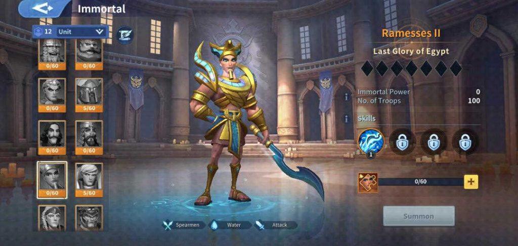 Ramesses II Immortal Infinity Kingdom