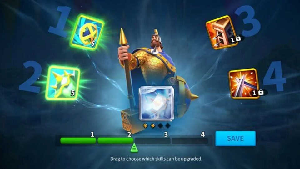 Rise of Kingdoms Commander Skill Lock and Reset