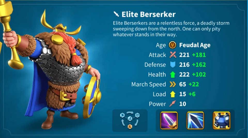 The Vikings Elite Berserker Rise of Kingdoms