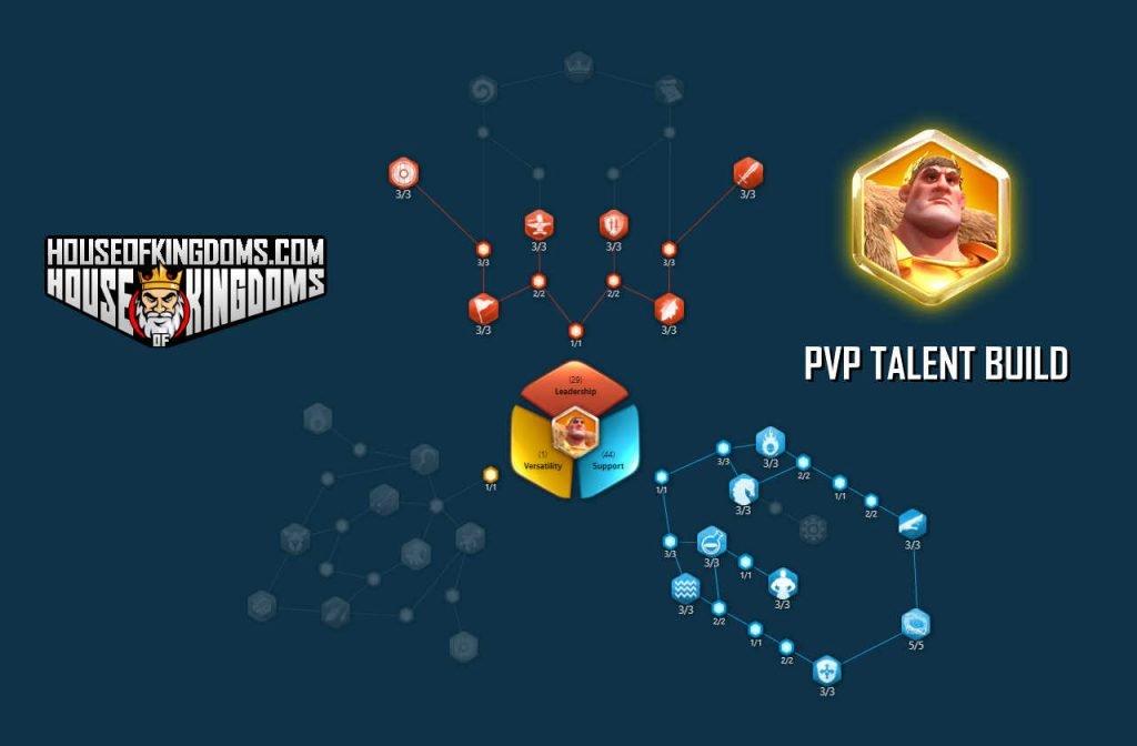 Trajan PVP Talent Build ROK
